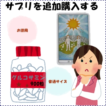 サプリや薬を選び取ろう:ぷちタロ